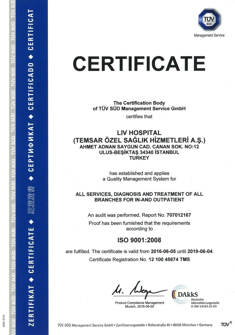 TÜV certificaat haartransplantatie